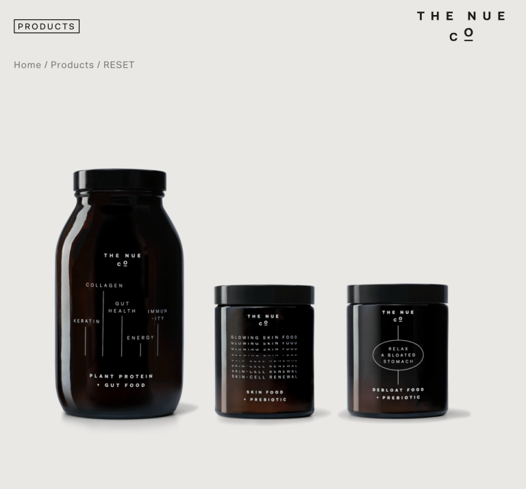 THE NUE CO - Products